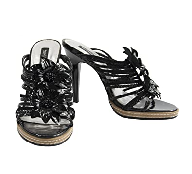 83fedf221801 Image Unavailable. Image not available for. Color  White House Black Market  Womens Izzie Black Patent Leather ...