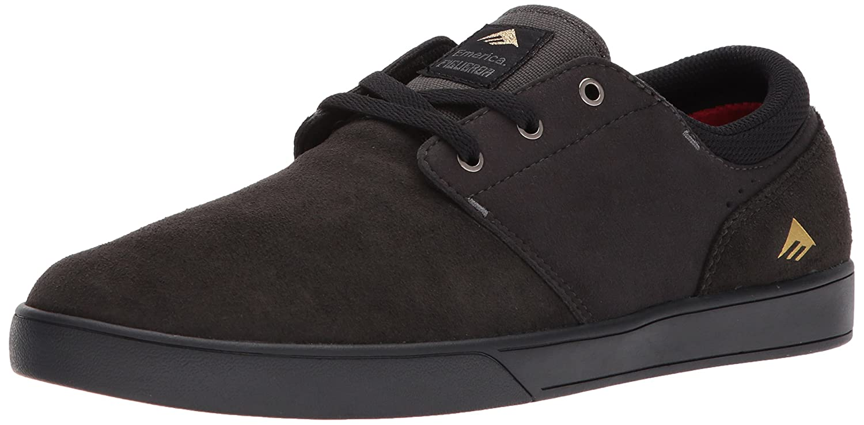 Emerica Figueroa (Figgy) Skate Shoe 8 D(M) US|Grey/Black/Gold