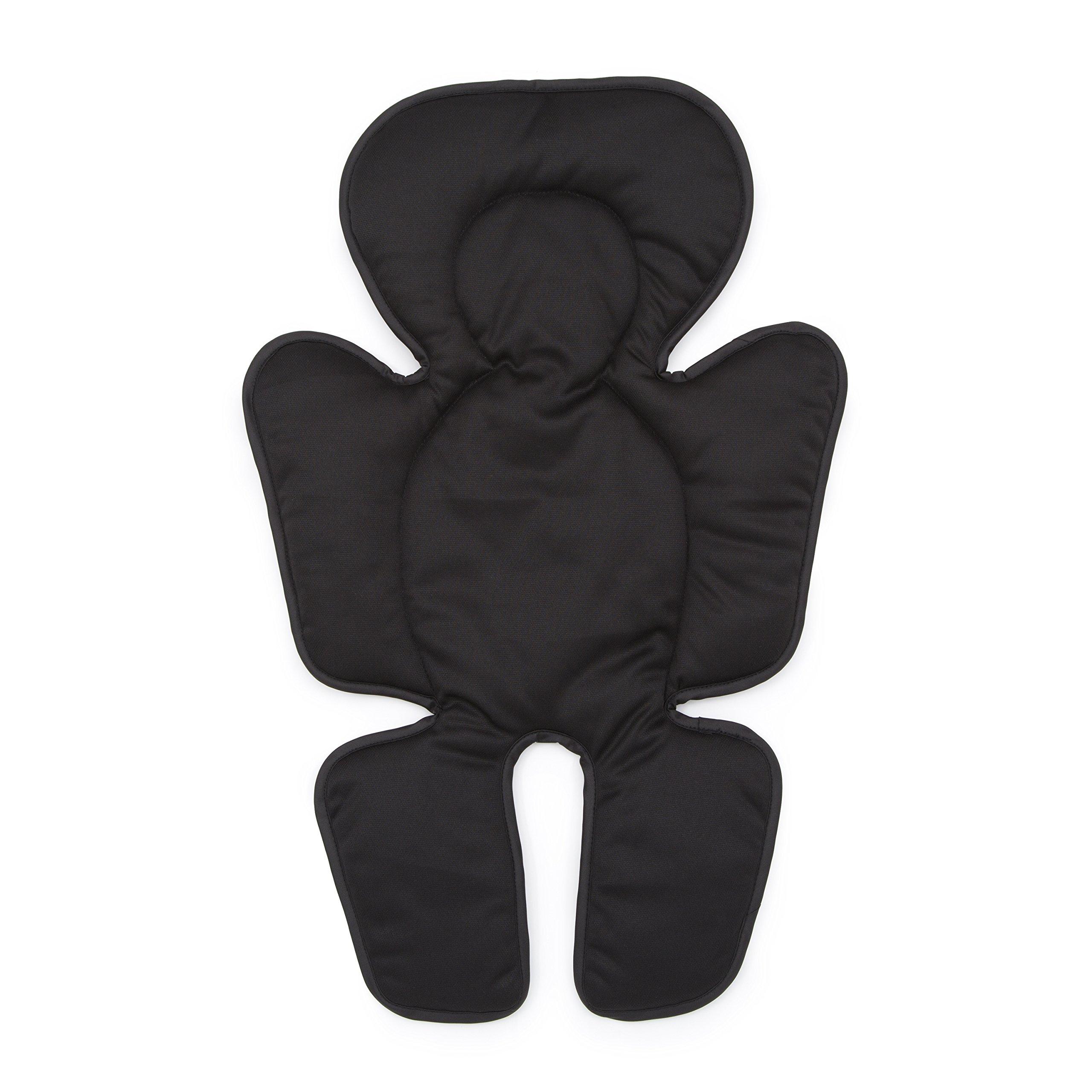 Delta Children Universal Cushioned Knit Stroller Liner, Black