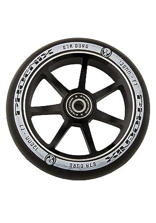 Phoenix Wide Boy F7 LP Pro - Rueda para patinete de aleación, 120 mm - negro/negro: Amazon.es: Deportes y aire libre