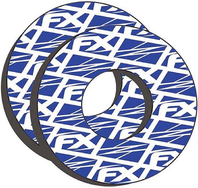 "FX Handlebar 10/"" Crossbar Bar Pad Black Moose MX Grips Donuts SUZUKI DRZ RM RMZ"