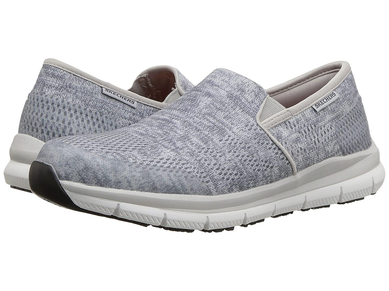 [SKECHERS(スケッチャーズ)] レディースワークシューズナースシューズ靴 Comfort Flex SR HC Pro SR II B07FRZXX4J 8.5 (25.5cm) B Medium|ブルー/グレー ブルー/グレー 8.5 (25.5cm) B Medium