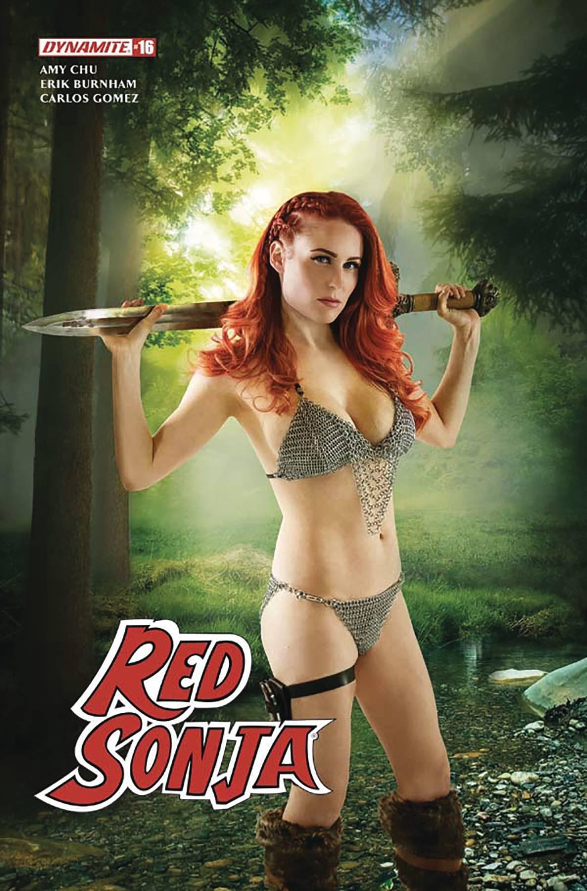 Download RED SONJA #16 CVR D COSPLAY ebook