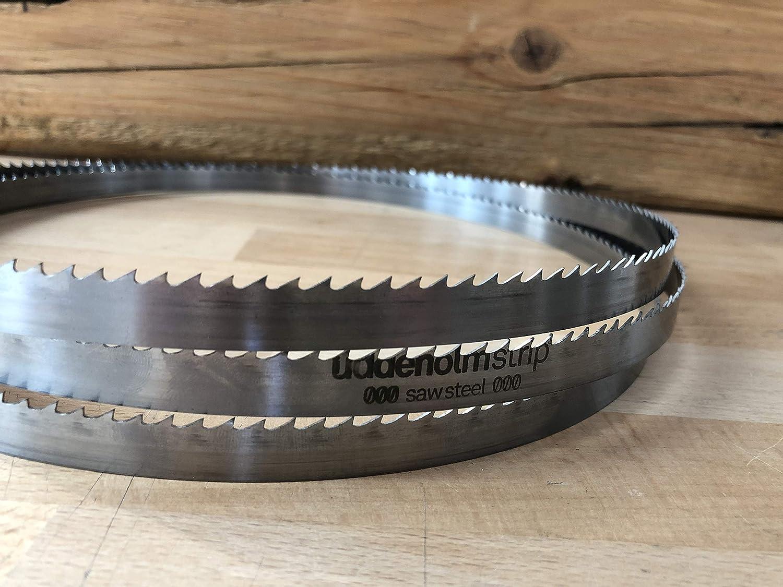 Bandsägeblatt Uddeholm Schwedenstahl von 1070mm bis 1500mm x 12mm x 0,4mm Zt5