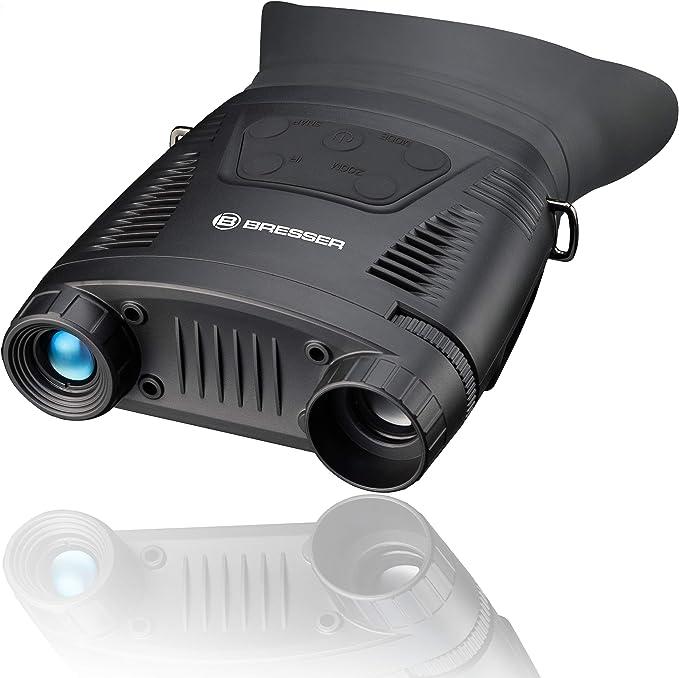 Bresser Nachtsichtgerät Digital Nv Binokular 3x 130 M Kamera