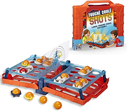 Touché-Coulé Shots - Juego de Mesa de Batalla Naval (versión Francesa): Amazon.es: Juguetes y juegos