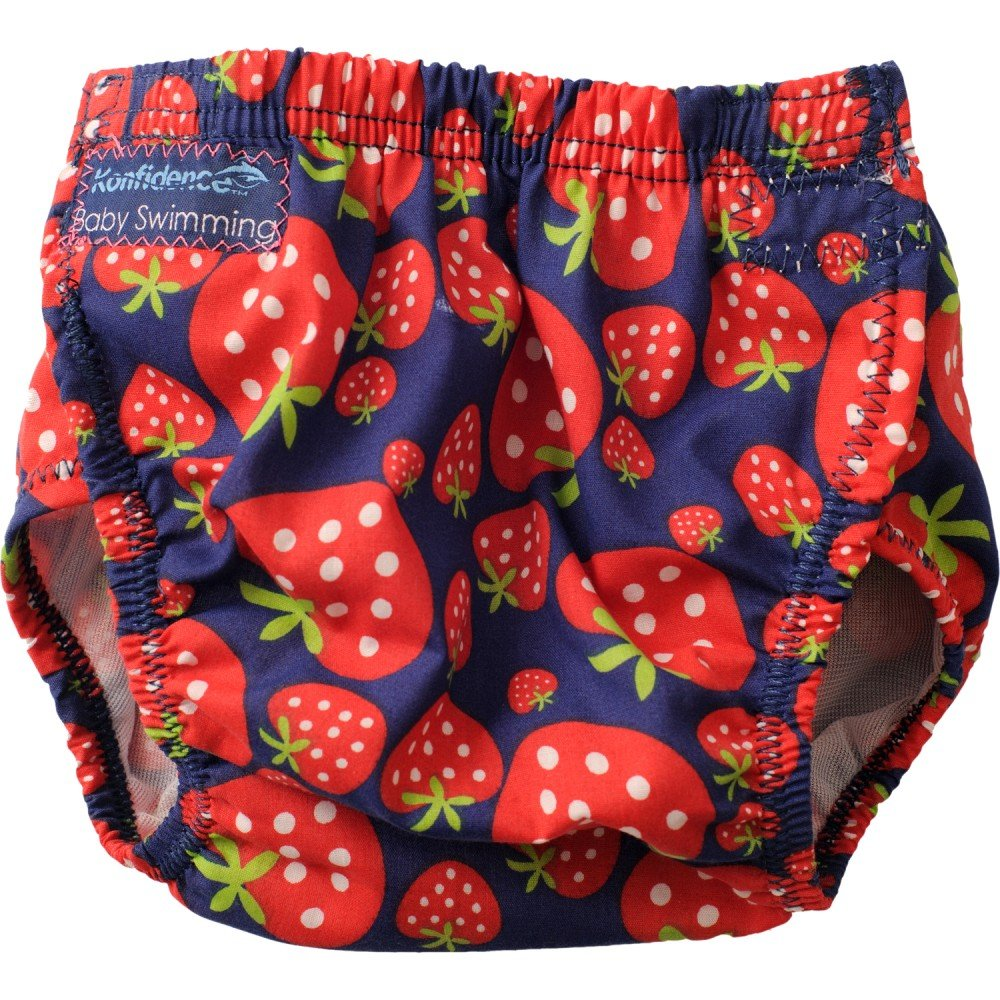 Konfidence Swim Nappy - one size - adjustable / reusable - Strawberry by Konfi-store OSSN08