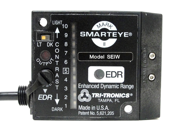 TRITRONICS SEIWF1 PHOTOELECTRIC Sensor, MARKII SMARTEYE, with Special Connector