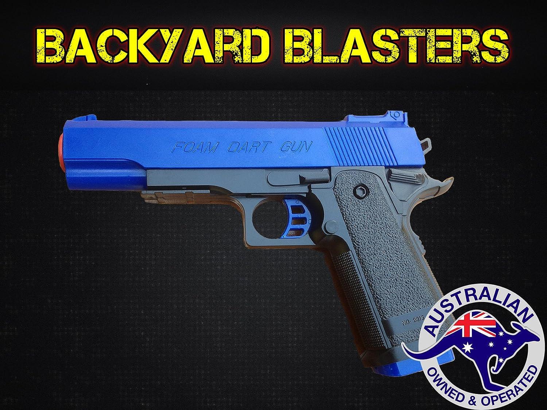 Amazon.com: Arma de espuma de Nef con dardo Detective M1911 ...