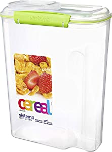 Sistema Cereal Pantry Storage Container, 17.7 Cup