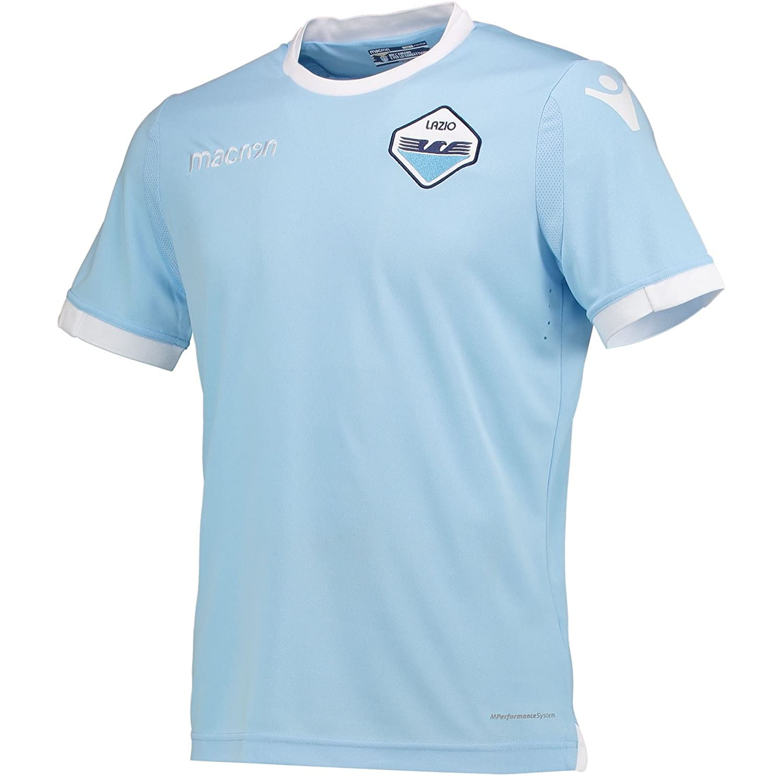 pretty nice bfa3b 3501d Macron Lazio Home Authentic Shirt 2017 2018: Amazon.co.uk ...