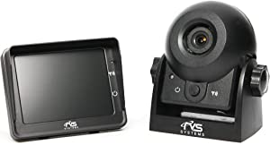 Wireless Hitch Camera for Easy Hitching of Trailers, Travel Trailers and Fifth Wheels | RVS-83112 | Rear View Safety
