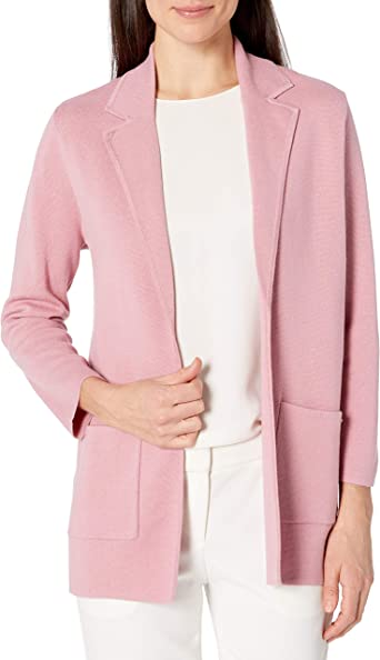 NINE WEST Womens Kissing Front Patch Pocket Sweater