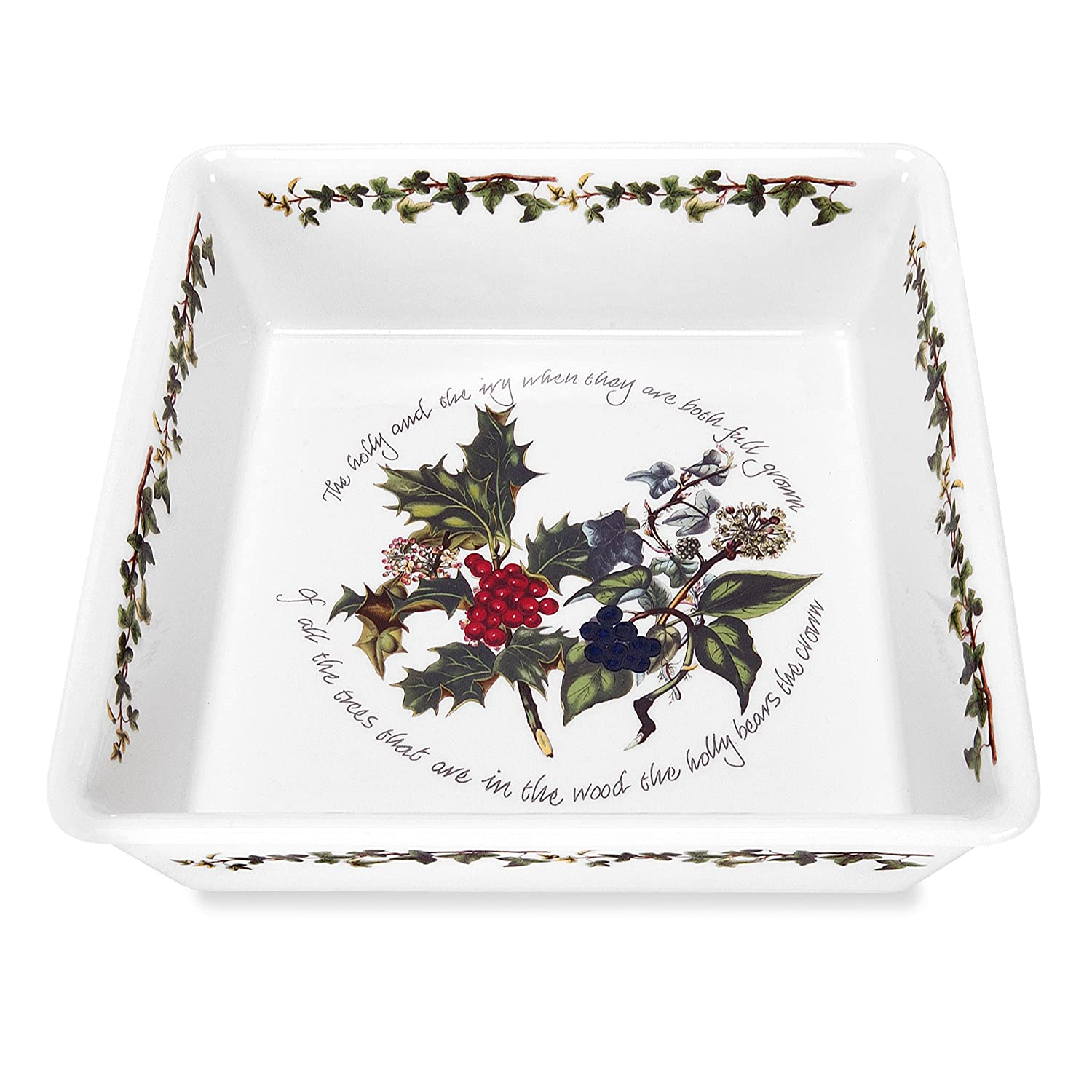 Portmeirion The Holly & The Ivy Square Baker 520783
