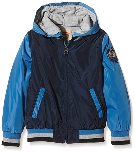 Levis kids Jacket Bob, Chaqueta para Niños, Azul (Deep Water 44),