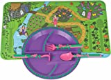 Constructive Eating - Garden Fairy Combo with Utensil Set Plate and Placemat  sc 1 st  Amazon.com & Amazon.com: Constructive Eating - Construction Combo with Utensil ...
