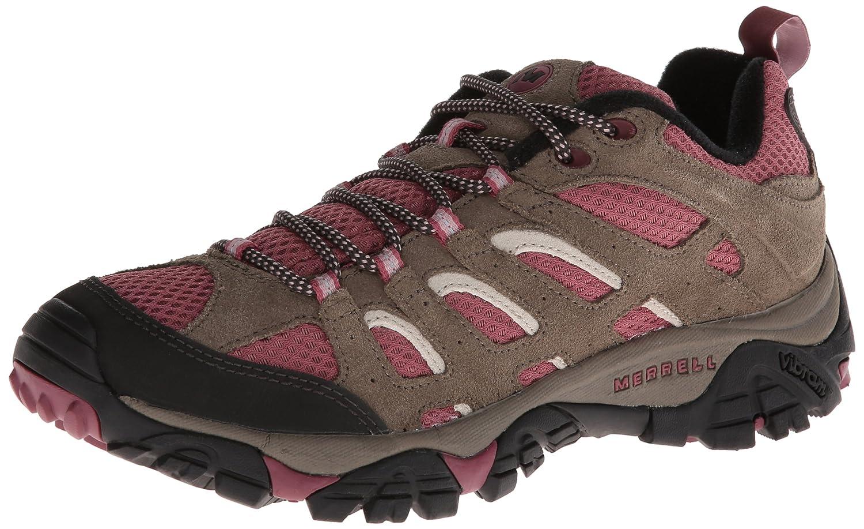Merrell Women's Moab Ventilator Hiking Shoe B00D1R4AYG 8 B(M) US|Boulder/Blush