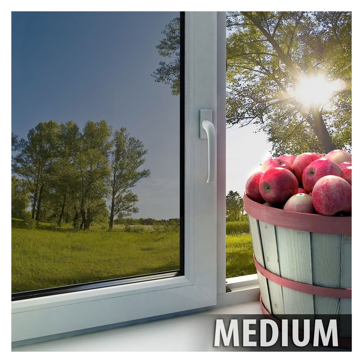 BDF EXS35 EXTERIOR Window Film High Heat Rejection Silver 35 (Medium) - 36in X 50ft by Buydecorativefilm (Image #4)