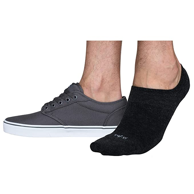 No Show Socks Men - Invisible Short Low Cut Athletic Sock for Boat Shoes e578fb593