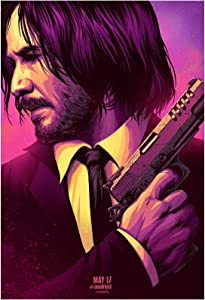 John Wick: Chapter 3 - Parabellum Movie Poster 24 x 36 Inches USA Shipped Print - Ready for Display (2019) (Poster Version A)