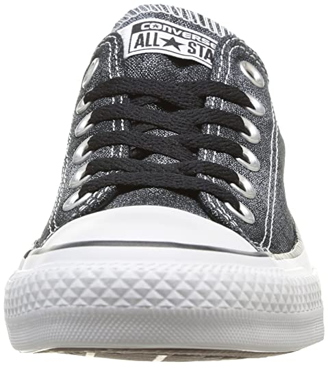 b75a390fd64c Converse Womens Chuck Taylor All Star Femme Sparkle Wash OX Trainers   Amazon.co.uk  Shoes   Bags