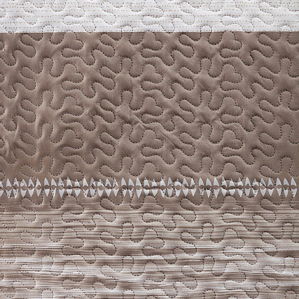 220 x 240 x 1 cm poli/éster Beige eurof irany Colcha