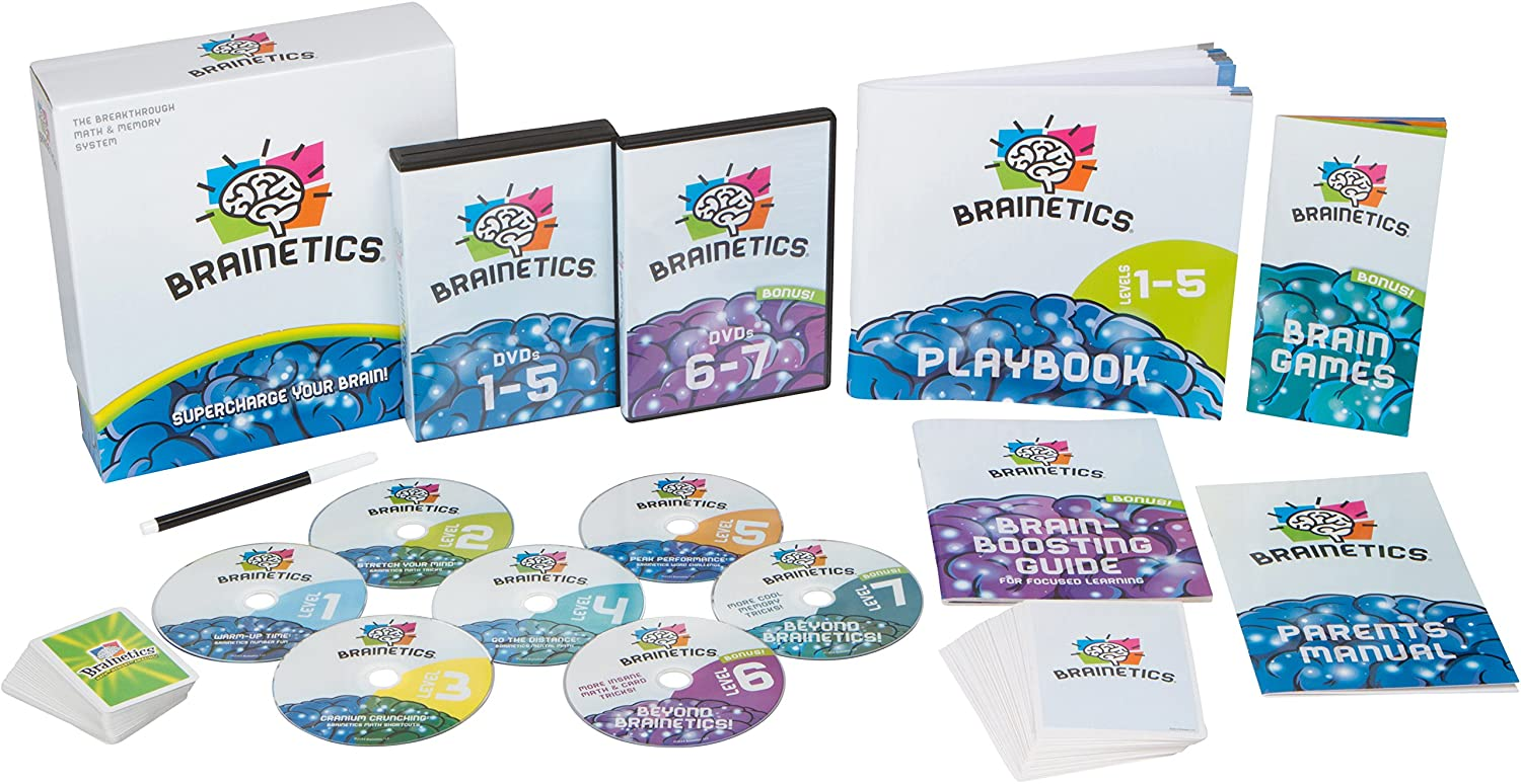 Brainetics.com - Math & Brain Teasers and Mind Games [7 DVDs]