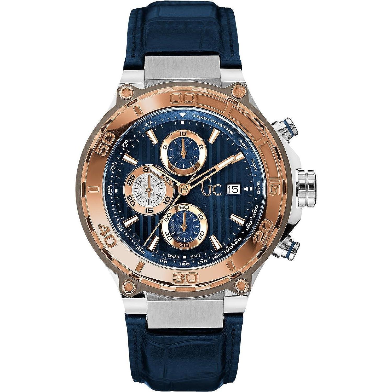 f8a57cd88fe2 Relojes de hombre de marca  GC comprar online 2018 2019 ofertas. «GUESS  COLLECTION BOLD RELOJ DE HOMBRE CUARZO CORREA DE CUERO X56011G7S» venta de  relojes ...