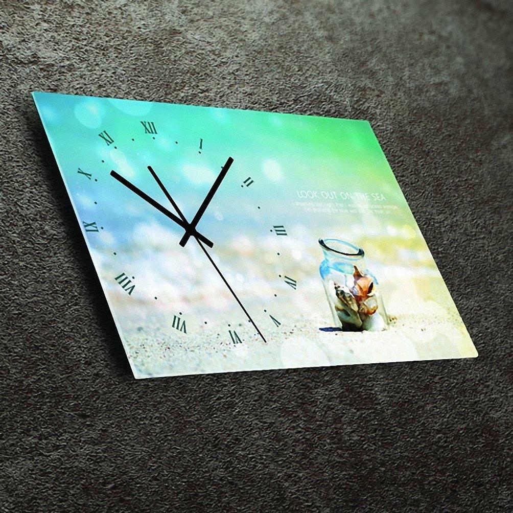 (リムピドゥ)LIMPID Design WALL CLOCK フレームがない アナログタイプ 無騒音 連続秒針 インテリア掛け時計 Psd-013 B07C86MQ9J