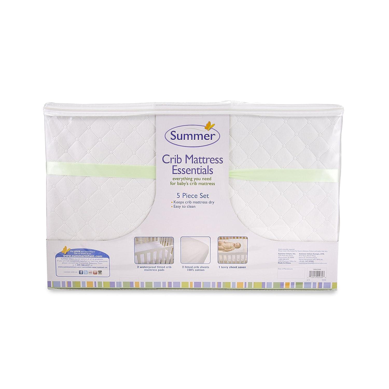 Baby crib mattress amazon - Amazon Com Summer Infant 5 Piece Essentials Crib Mattress Green Baby