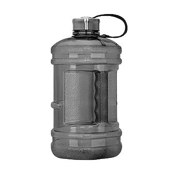 Amazon.com: 2,3 Litro Hexágono sin BPA botella acero ...
