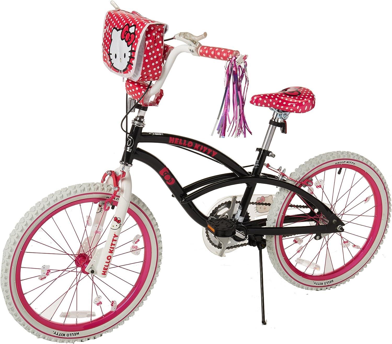 Hello Kitty 8108-60TJ Bicicleta para niñas, 20 pulgadas, negro ...