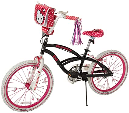 710bf6414f Amazon.com   Hello Kitty 8108-60TJ Girls Bike