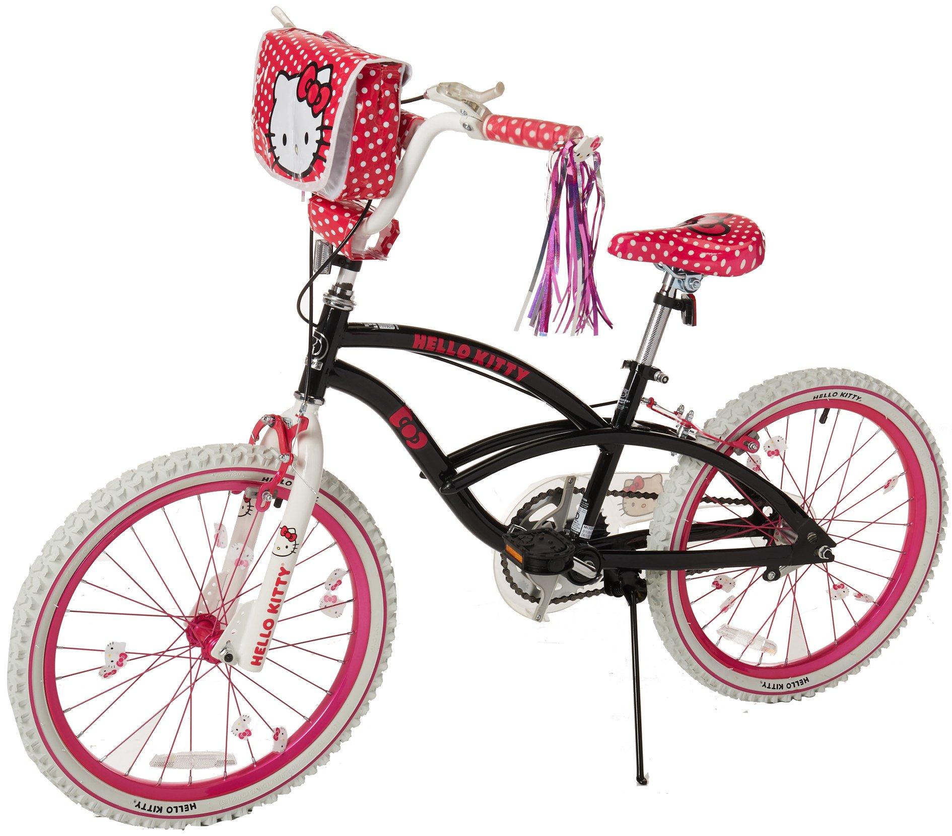 Hello Kitty 8108-60TJ Girls Bike, 20-Inch, Black/Pink/White by Hello Kitty