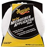 "Meguiar's X3080 Even Coat 5"" Microfiber Applicator Pads, 2 Pack"