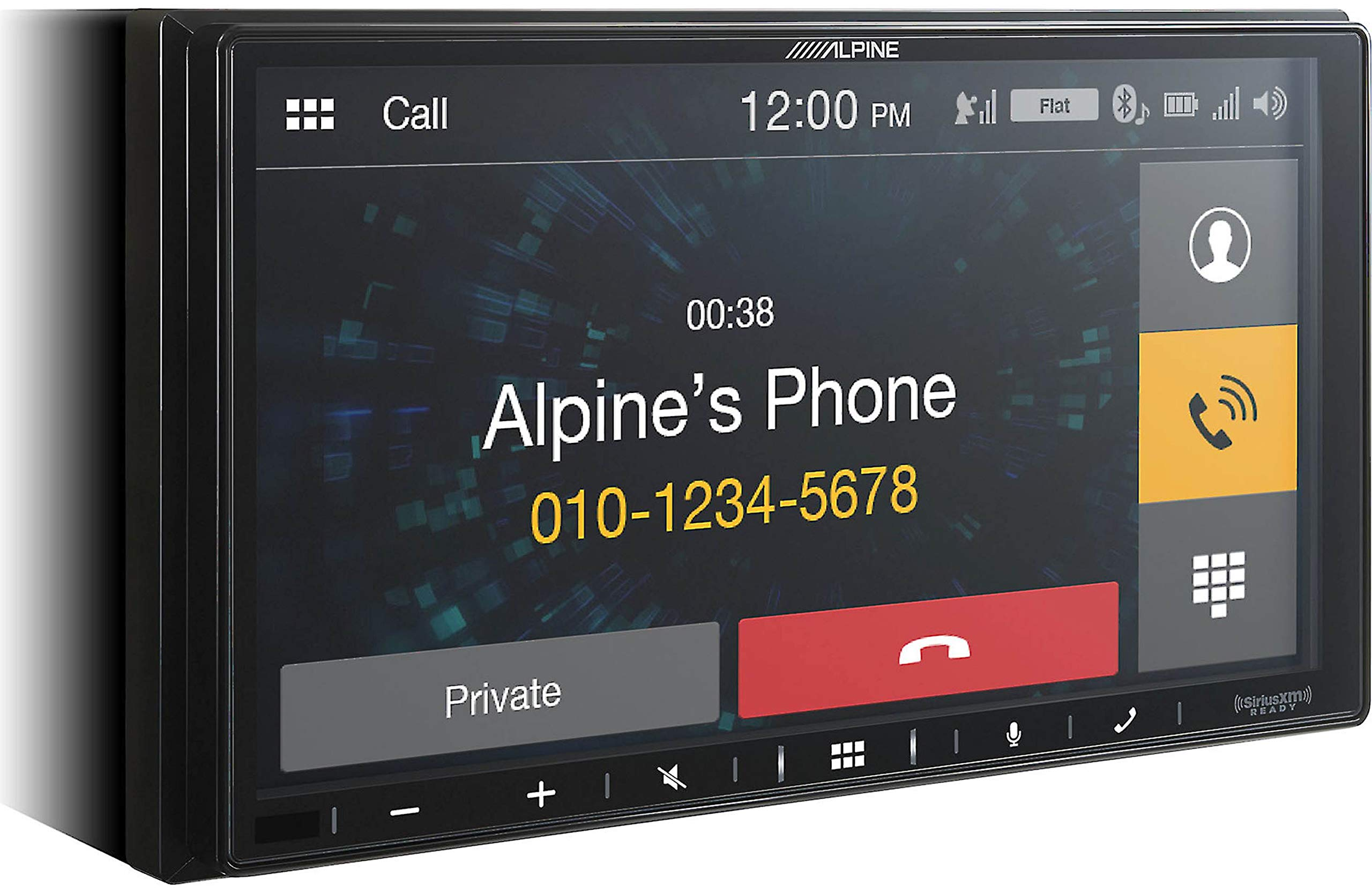 Alpine iLX-W650 7'' Mech-Less Receiver Compatible with Apple CarPlay and Android Auto by Alpine (Image #3)