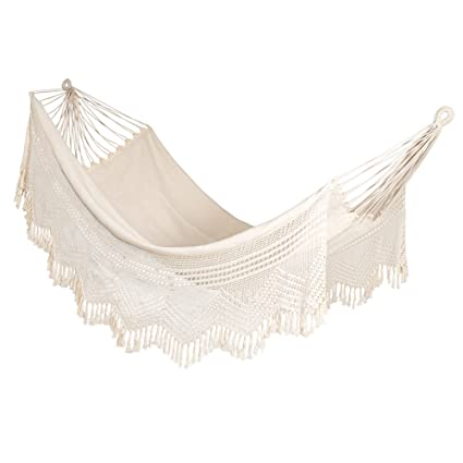 Hangit Cotton Hammock (Natural, 335 Centimeters)