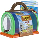 "Nature Bound Critter Cage Bug Catcher Habitat Kit with Activity Booklet, Green, 8.5"" x 5.75"" x 8"""