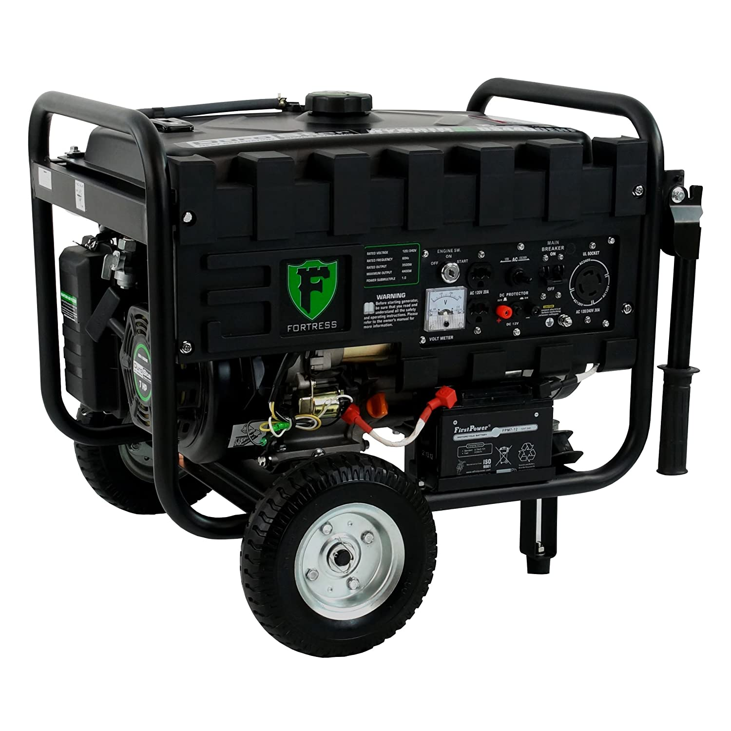 Amazon Fortress Hybrid 4 400 Watt Dual Fuel Generator with