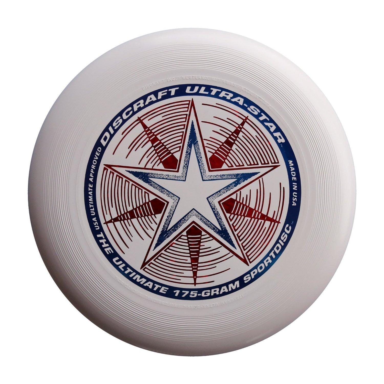 Frisbee Profesional Discraft 175 Gr. / 27cm  Blanco