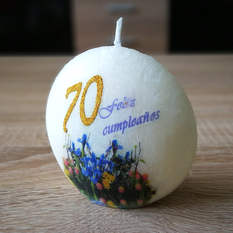 El regalo perfecto: decoración de vela original vela de ...