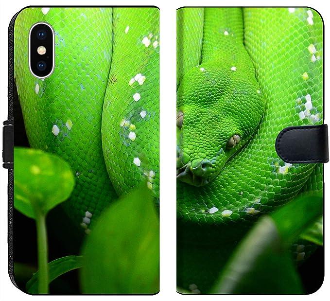Amazon com: Apple iPhone X Flip Fabric Wallet Case Image ID