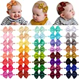 Baby Elastic Hair Headbands Bow Hair Accessories for Toddler Girls Kids