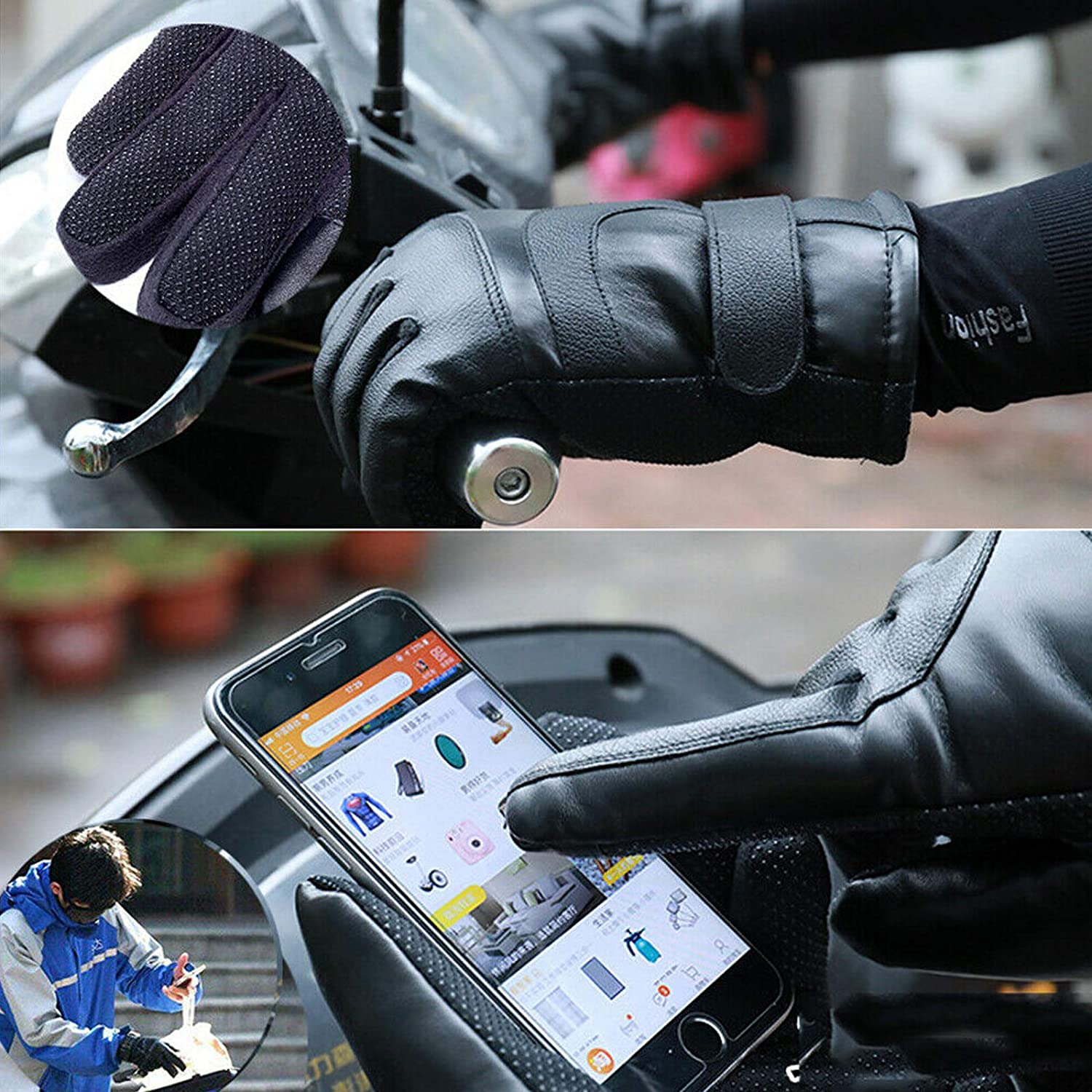 Working Men Women Thermal Heated Gloves for Motorcycle sportuli USB Heated Gloves Cycling Fishing Electric Hand Warmer Winter Heating Gloves