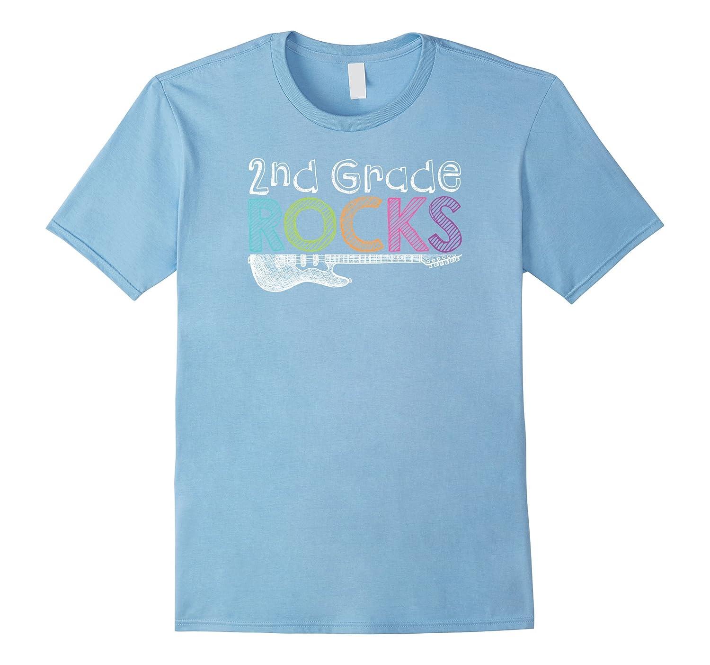 2nd Grade Rocks Novelty t-Shirt-BN