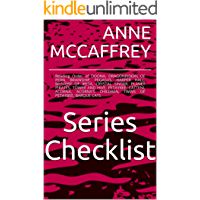 ANNE MCCAFFREY SERIES CHECKLIST - Reading Order of DOONA, DRAGONRIDERS OF PERN, BRAINSHIP, PEGASUS, HARPER HALL, MYSTERY OF IRETA, CRYSTAL SINGER, PLANET PIRATES, TOWER AND HIVE, PETAYBEE, ...