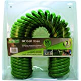 Flexon PCH5850 Coil Hose, Green, 50 feet