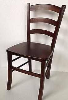 sedia ordine min. 2 pz modello paesana seduta massello colore noce ... - Soggiorno Noce Massello 2