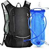 N NEVO RHINO 10L Insulated Hydration Backpack Pack with 2/3L Water Bladder, Camelback Water Backpack for Hiking/Cycling