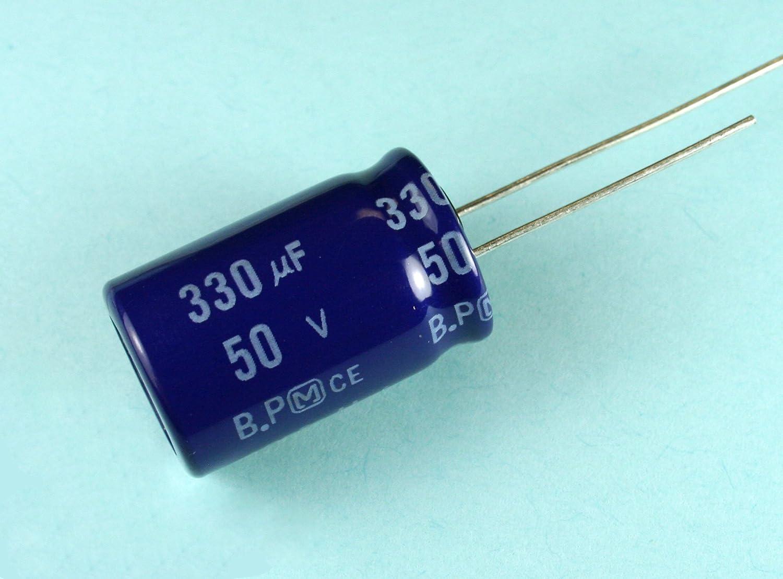 4pcs Panasonic SU 220uF 25v Radial Electrolytic Capacitor BP NP Bi-polar U